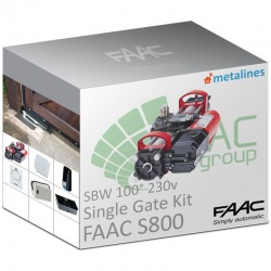 FAAC S800 SBW 230V KIT S-100