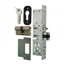 NARROW AUTO DEADLOCKING LATCH