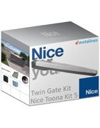 Electric Double Swing Gate Kits|NICE